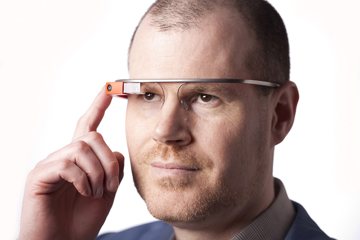 Productfotografie Google Glass